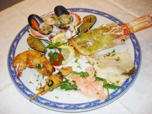 antipasto misto di pesce Ristoranti Maratea La Tana