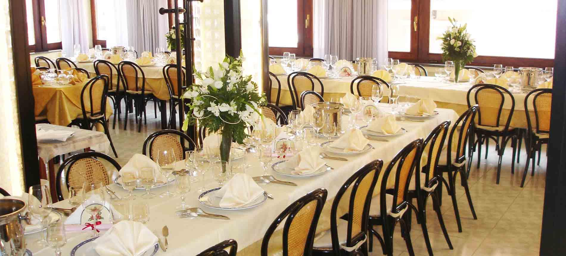 Sala ristorante Maratea