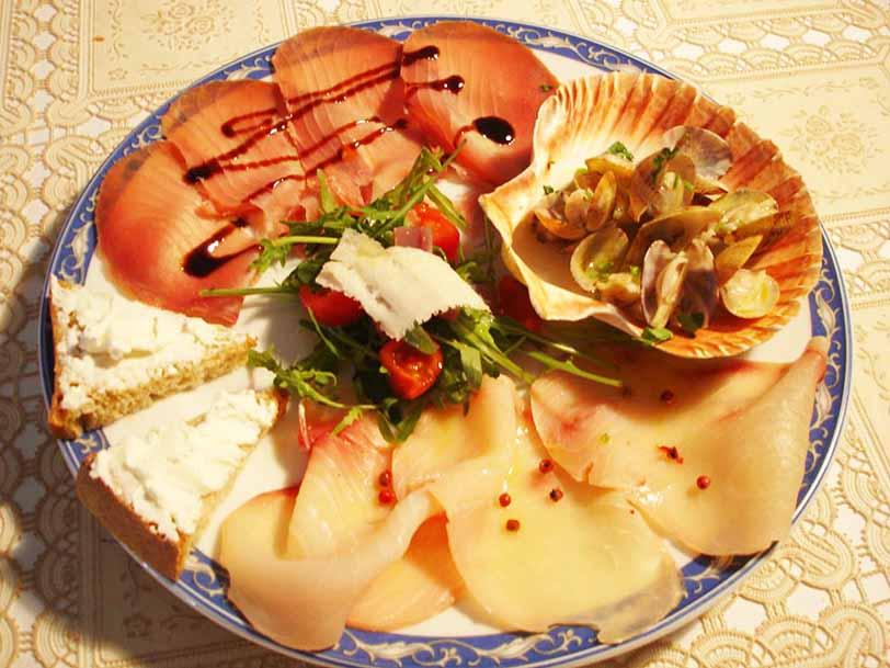 Golosseria del tirreno ristorante la Tana Maratea