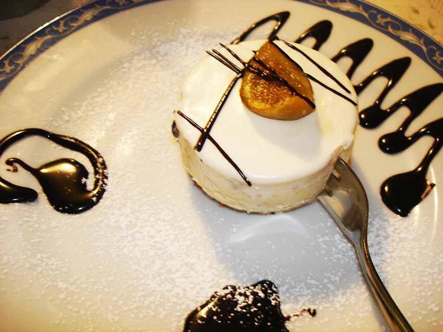 dessert ristorante a Maratea La tana