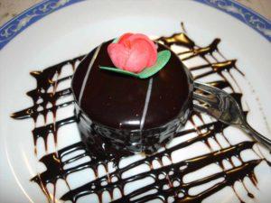 Dessert Ciccolato Ristorante La Tana Maratea
