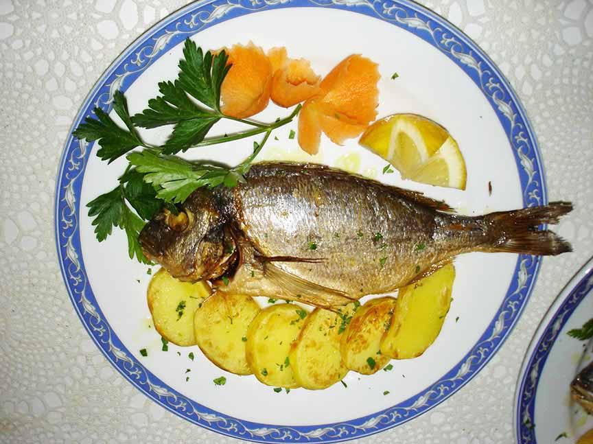 Orata ristorante la Tana Maratea